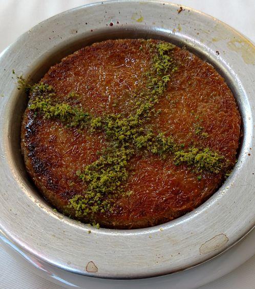 Dessert in Istanbul
