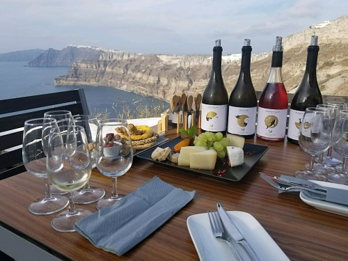 Things to do in Santorini: Wine