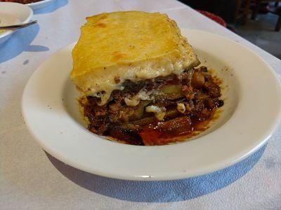 Greek Food: Moussaka